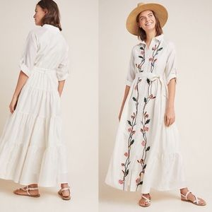 Anthropologie samant chauhan embroidered dress 10